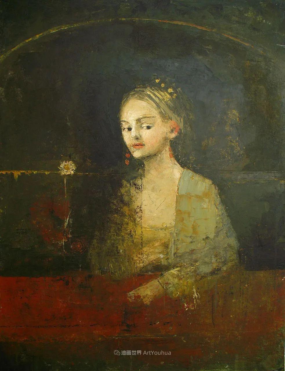 她从古代壁画中汲取灵感,但作品有一种非常现代、神秘的感觉!插图33