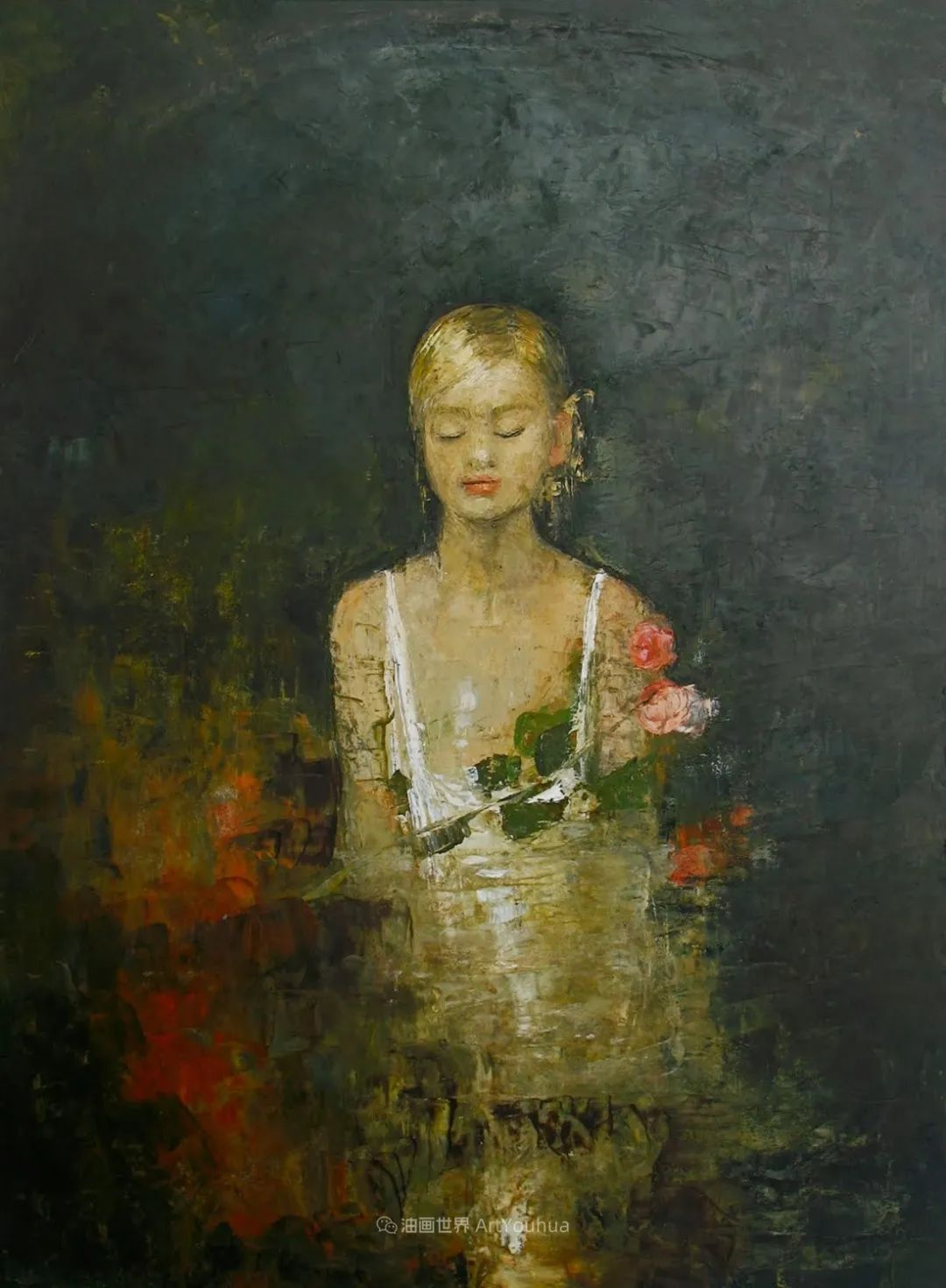 她从古代壁画中汲取灵感,但作品有一种非常现代、神秘的感觉!插图35