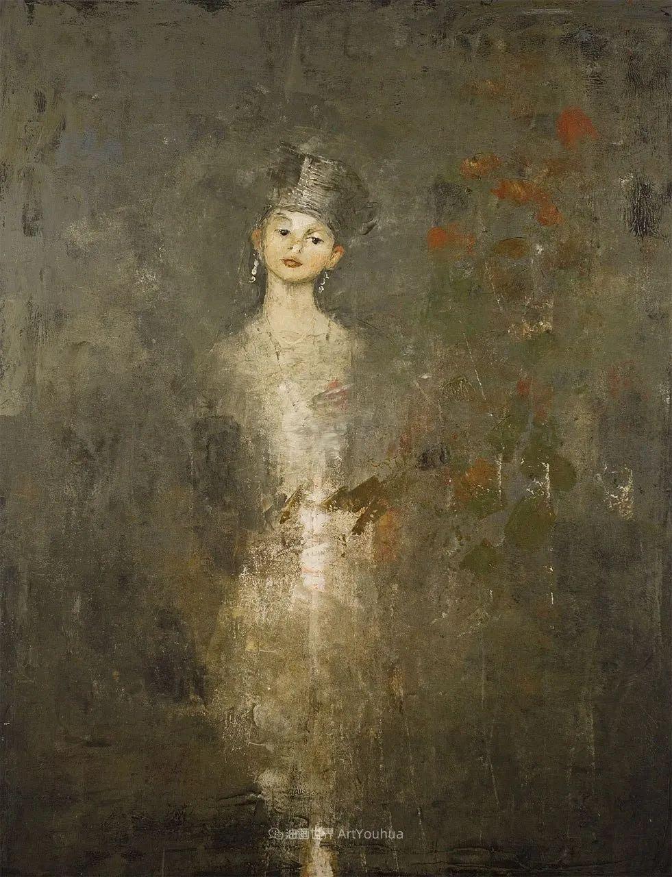 她从古代壁画中汲取灵感,但作品有一种非常现代、神秘的感觉!插图39