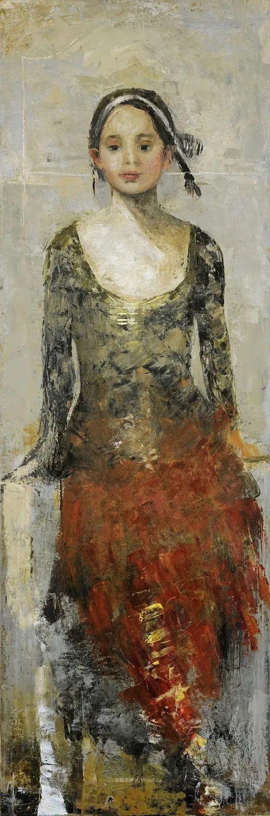 她从古代壁画中汲取灵感,但作品有一种非常现代、神秘的感觉!插图41