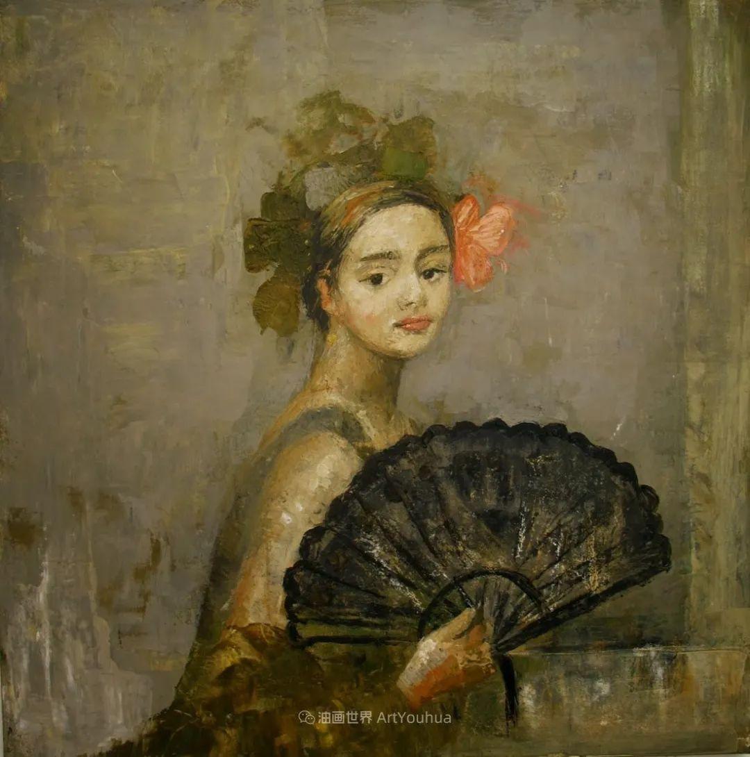 她从古代壁画中汲取灵感,但作品有一种非常现代、神秘的感觉!插图47