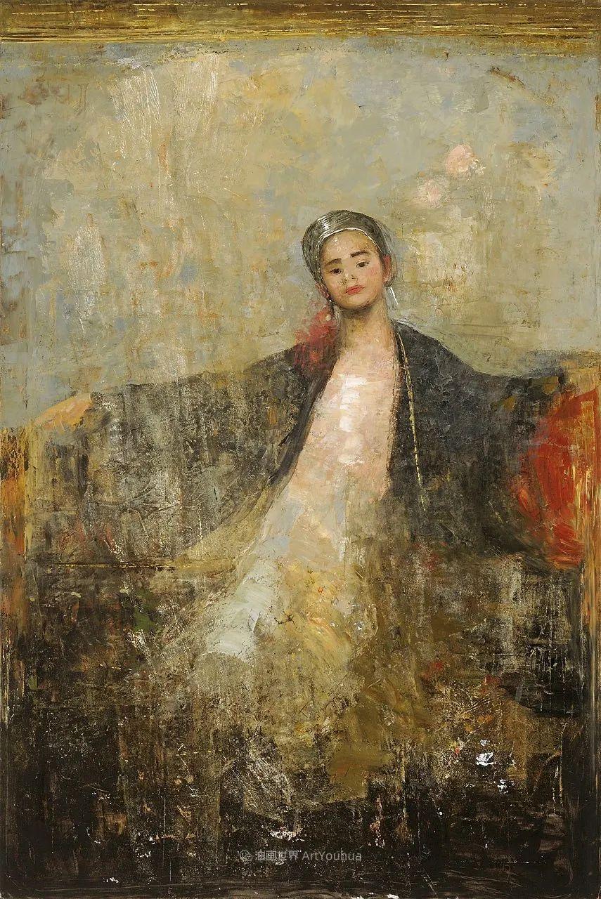 她从古代壁画中汲取灵感,但作品有一种非常现代、神秘的感觉!插图49