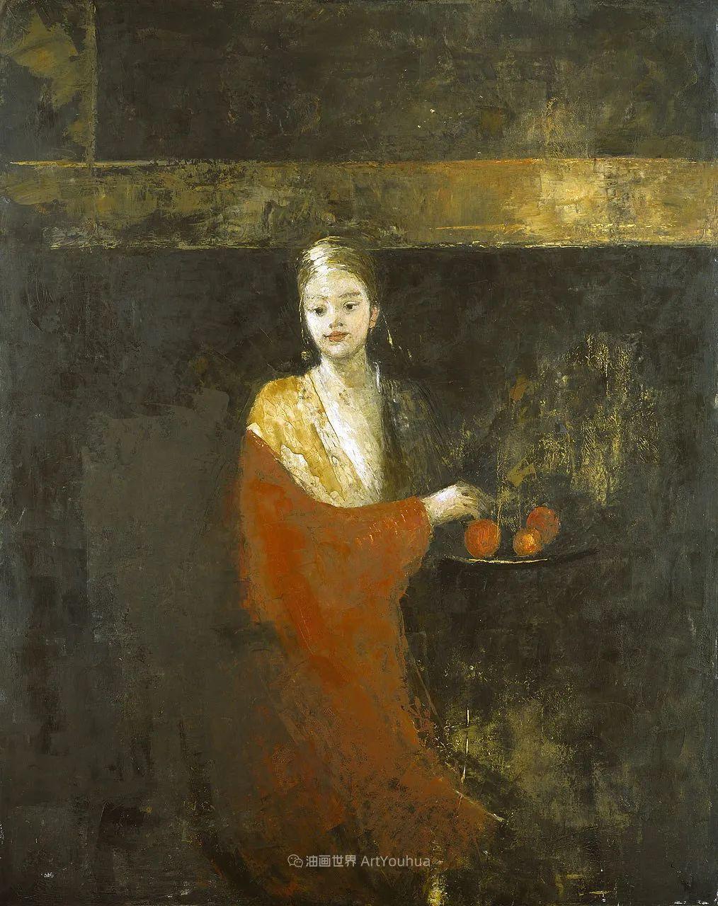 她从古代壁画中汲取灵感,但作品有一种非常现代、神秘的感觉!插图55