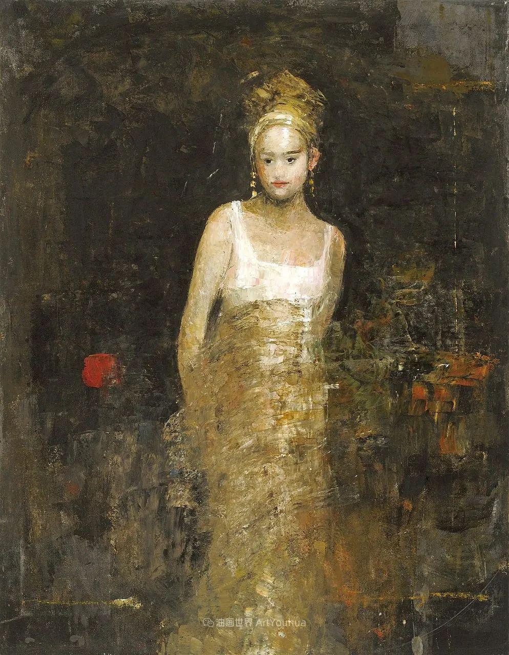 她从古代壁画中汲取灵感,但作品有一种非常现代、神秘的感觉!插图61