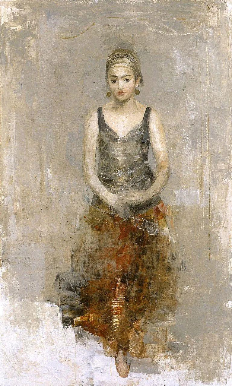 她从古代壁画中汲取灵感,但作品有一种非常现代、神秘的感觉!插图65