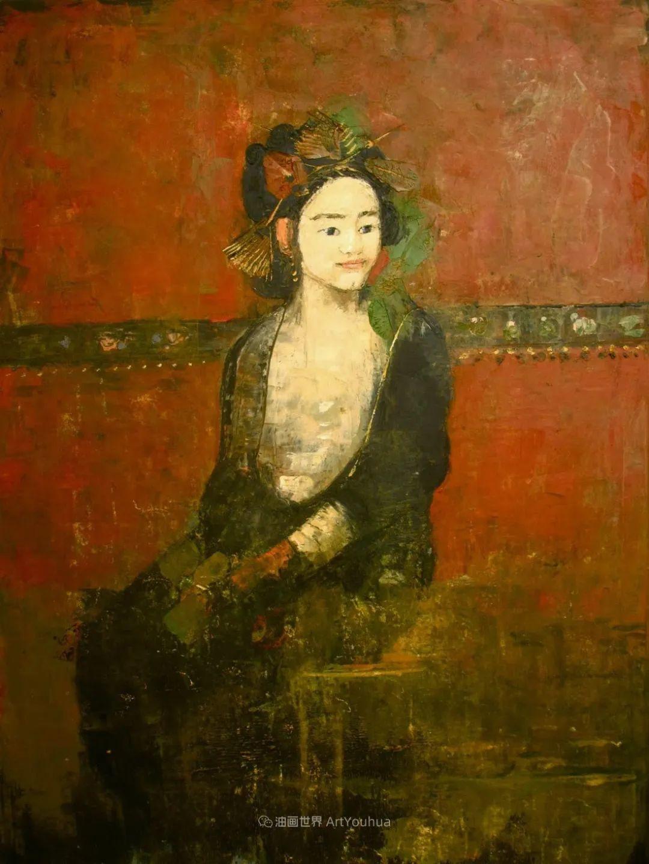 她从古代壁画中汲取灵感,但作品有一种非常现代、神秘的感觉!插图71