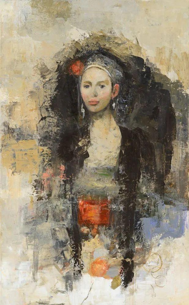 她从古代壁画中汲取灵感,但作品有一种非常现代、神秘的感觉!插图73
