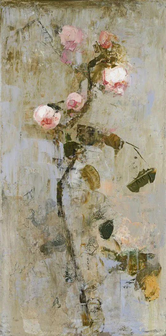 她从古代壁画中汲取灵感,但作品有一种非常现代、神秘的感觉!插图81
