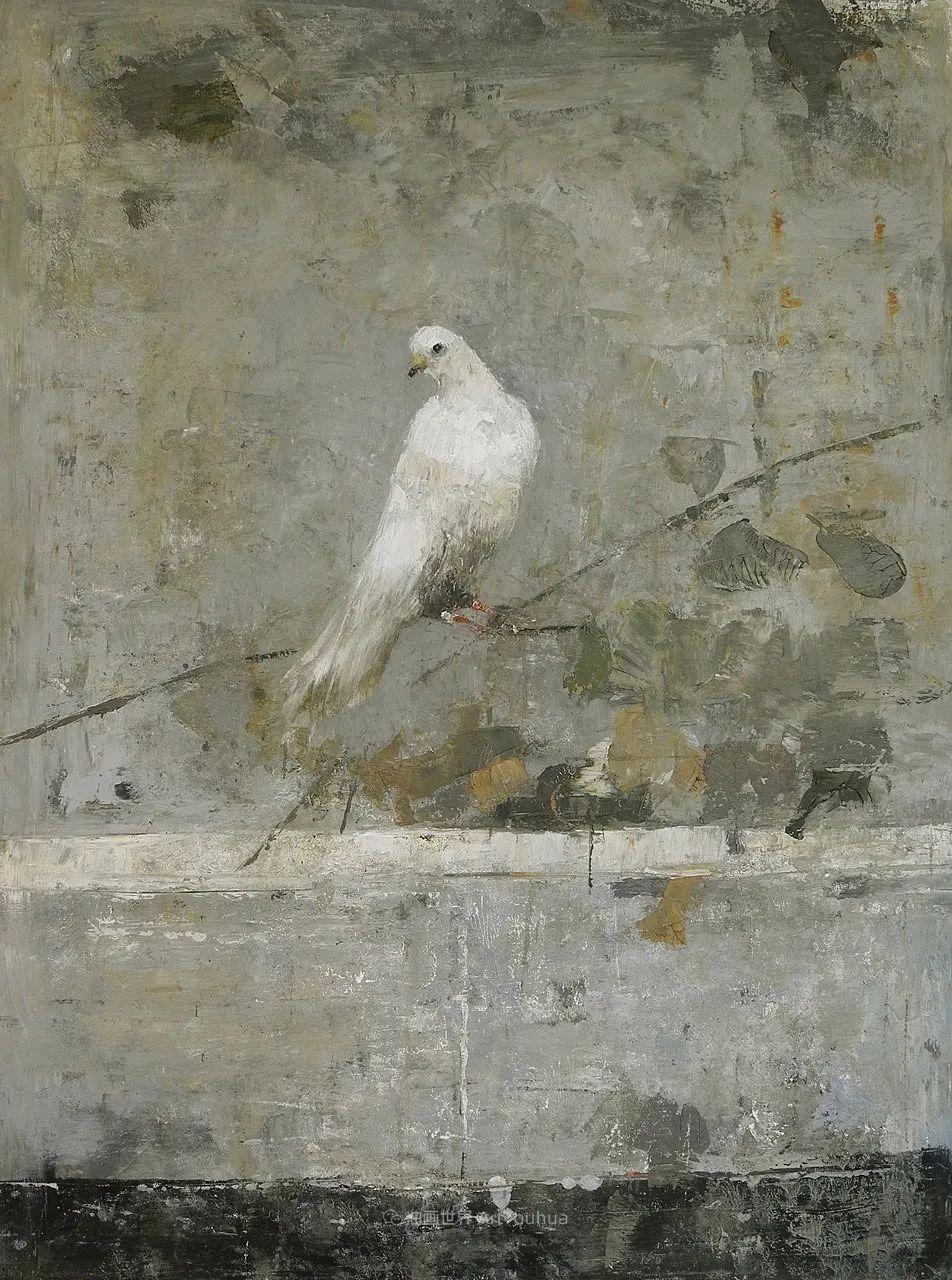 她从古代壁画中汲取灵感,但作品有一种非常现代、神秘的感觉!插图85