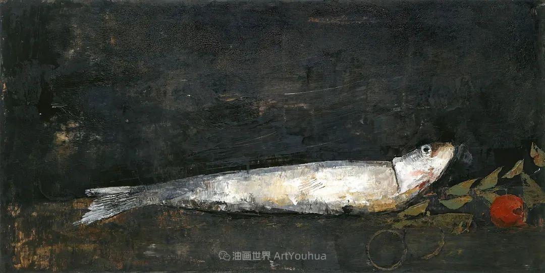 她从古代壁画中汲取灵感,但作品有一种非常现代、神秘的感觉!插图97