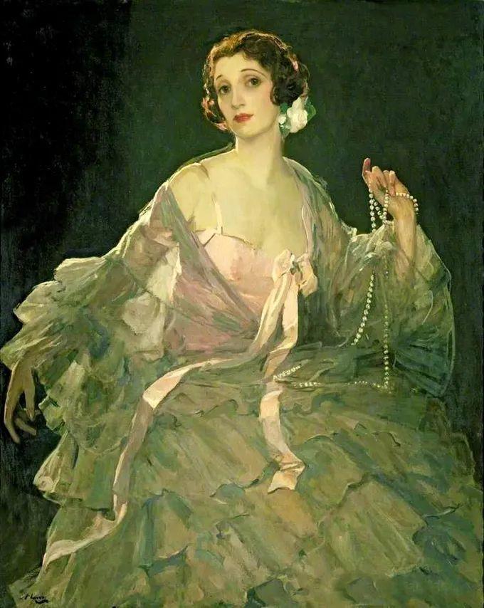 英国皇家美术学院院士、爱尔兰著名画家约翰·拉维里插图1