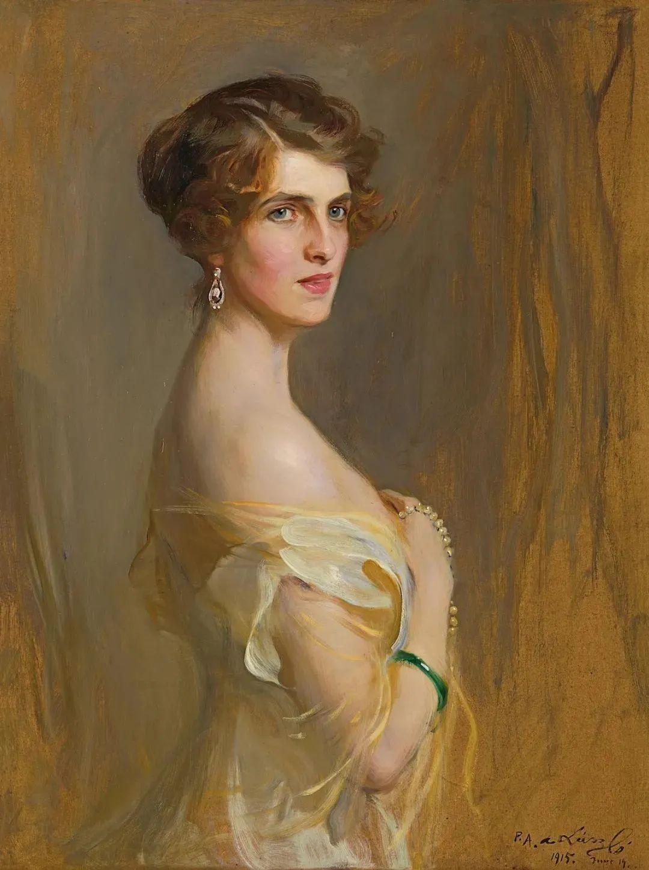 英国皇家美术学院院士、爱尔兰著名画家约翰·拉维里插图3