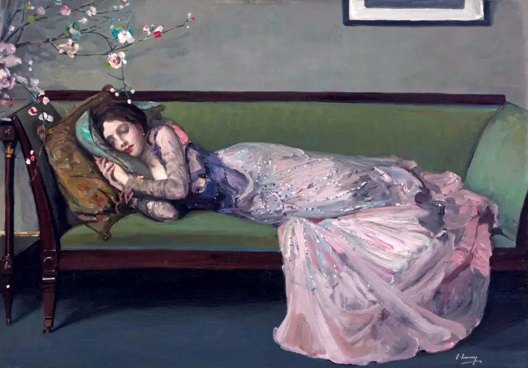 英国皇家美术学院院士、爱尔兰著名画家约翰·拉维里插图5