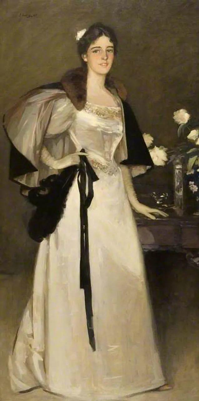 英国皇家美术学院院士、爱尔兰著名画家约翰·拉维里插图11