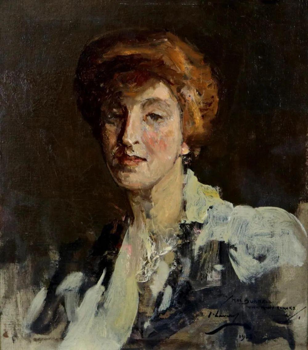 英国皇家美术学院院士、爱尔兰著名画家约翰·拉维里插图13