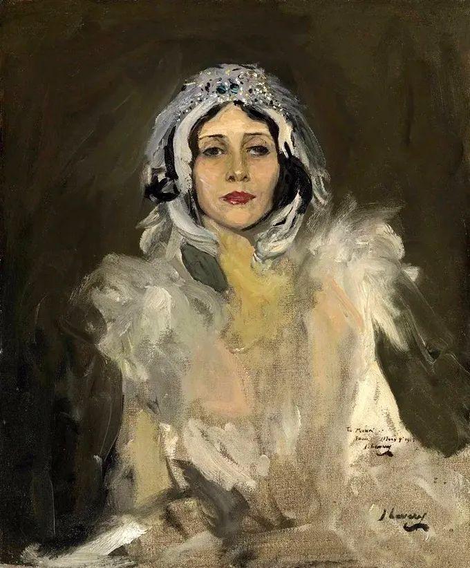 英国皇家美术学院院士、爱尔兰著名画家约翰·拉维里插图17