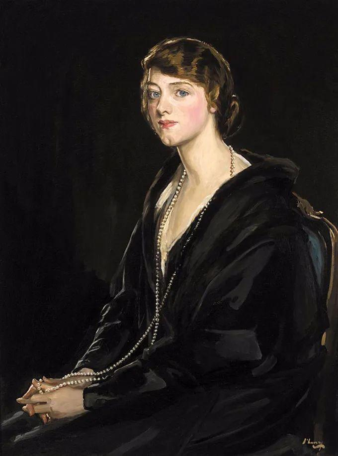 英国皇家美术学院院士、爱尔兰著名画家约翰·拉维里插图19