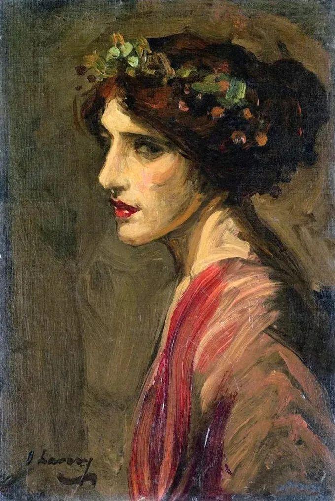 英国皇家美术学院院士、爱尔兰著名画家约翰·拉维里插图23