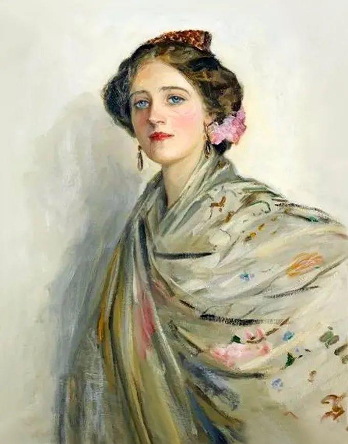 英国皇家美术学院院士、爱尔兰著名画家约翰·拉维里插图27