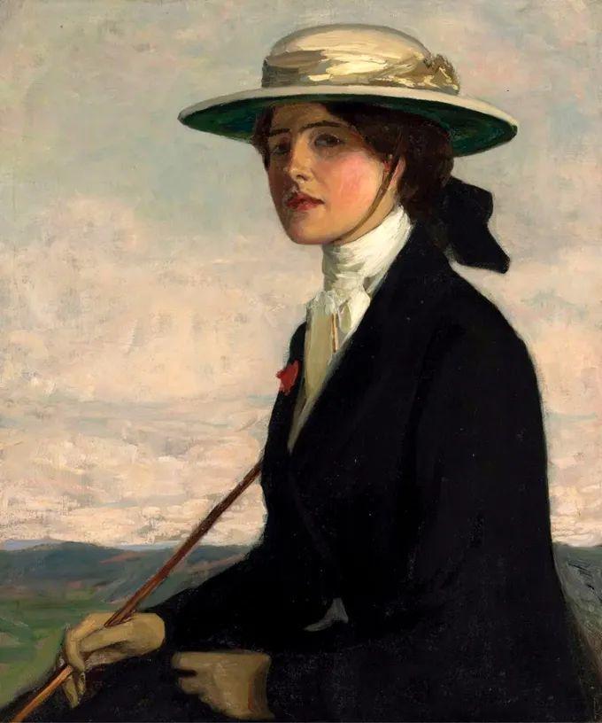 英国皇家美术学院院士、爱尔兰著名画家约翰·拉维里插图29