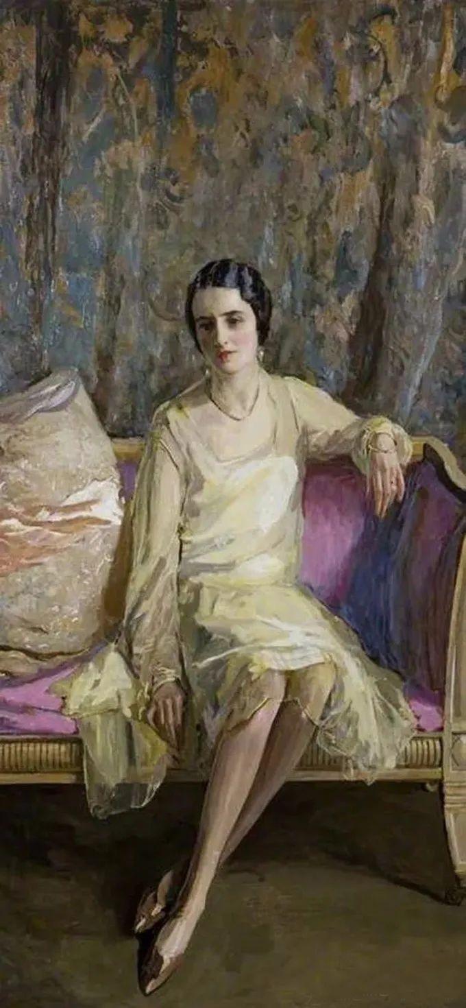英国皇家美术学院院士、爱尔兰著名画家约翰·拉维里插图31