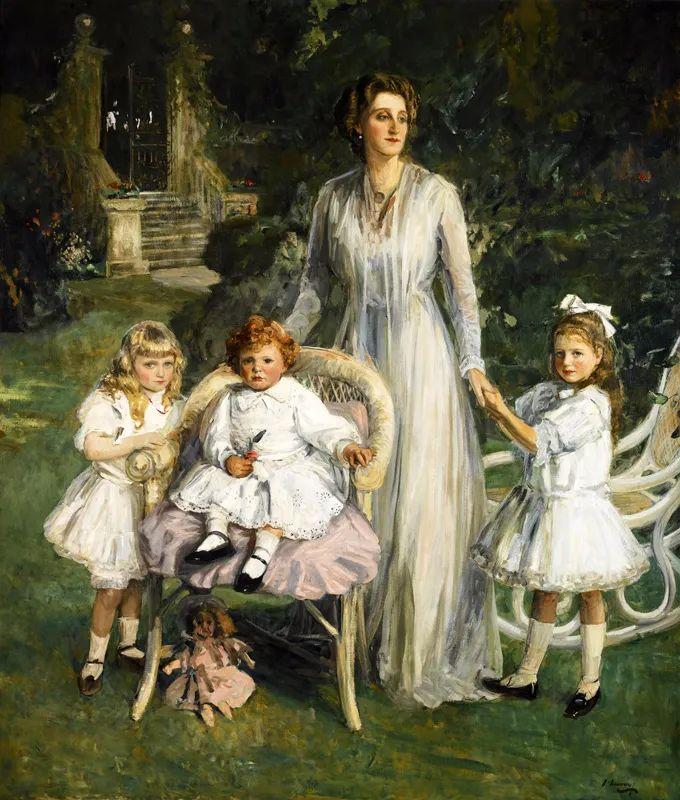 英国皇家美术学院院士、爱尔兰著名画家约翰·拉维里插图33