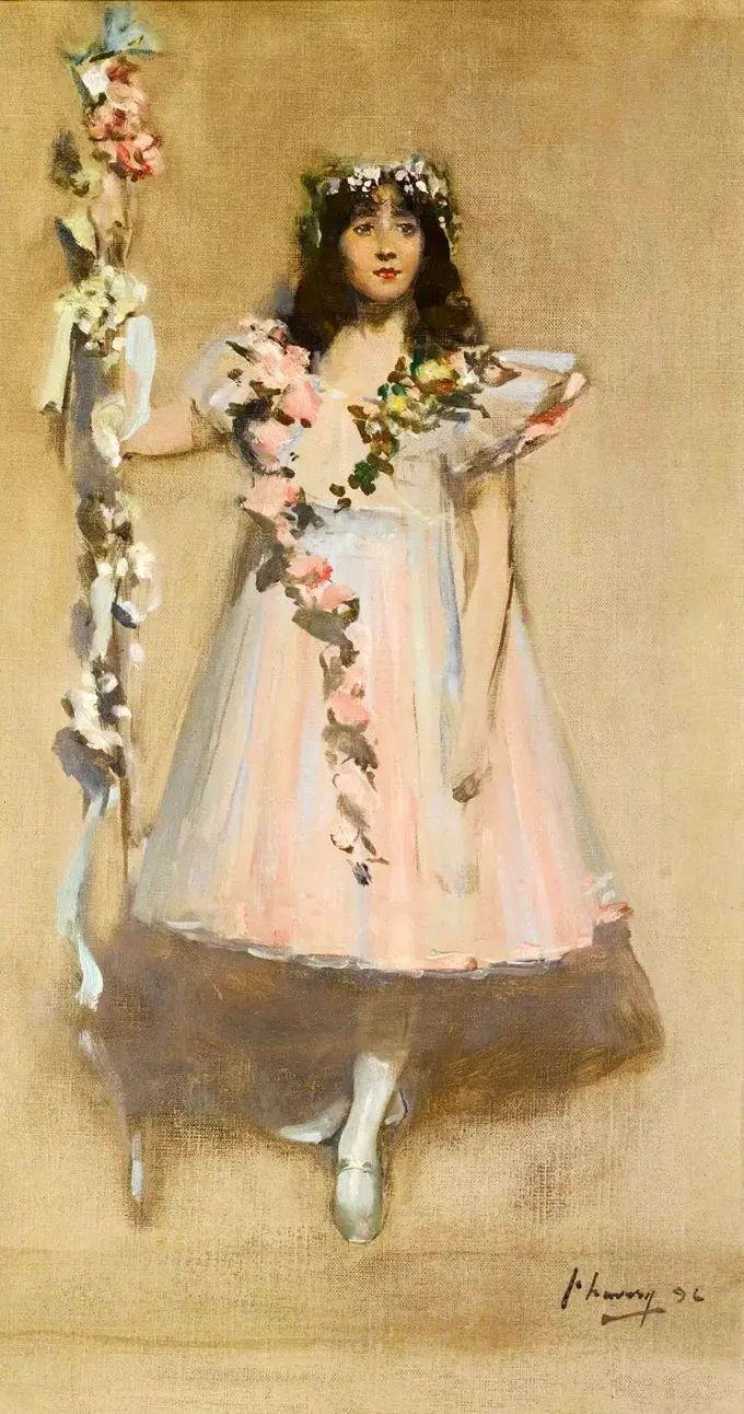 英国皇家美术学院院士、爱尔兰著名画家约翰·拉维里插图37