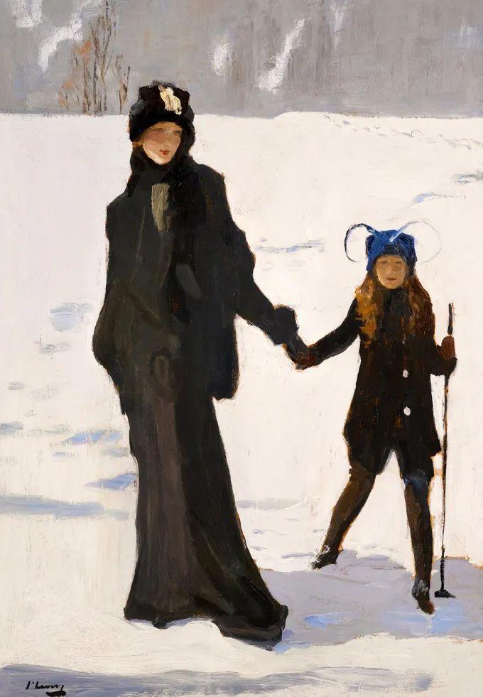英国皇家美术学院院士、爱尔兰著名画家约翰·拉维里插图45
