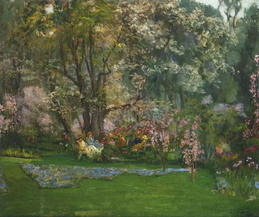 英国皇家美术学院院士、爱尔兰著名画家约翰·拉维里插图49