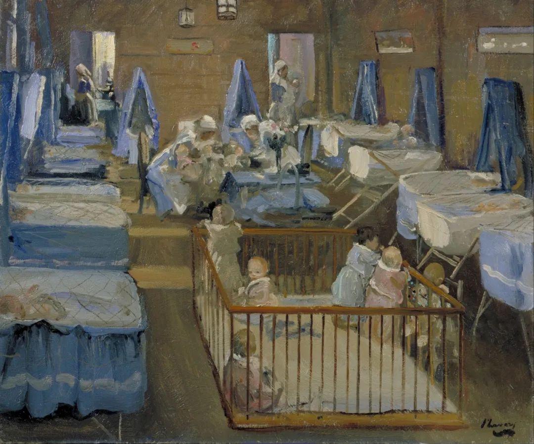 英国皇家美术学院院士、爱尔兰著名画家约翰·拉维里插图59