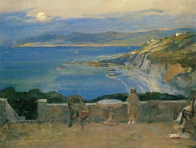 英国皇家美术学院院士、爱尔兰著名画家约翰·拉维里插图61
