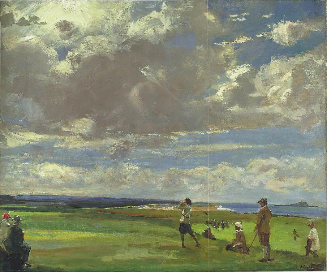英国皇家美术学院院士、爱尔兰著名画家约翰·拉维里插图63