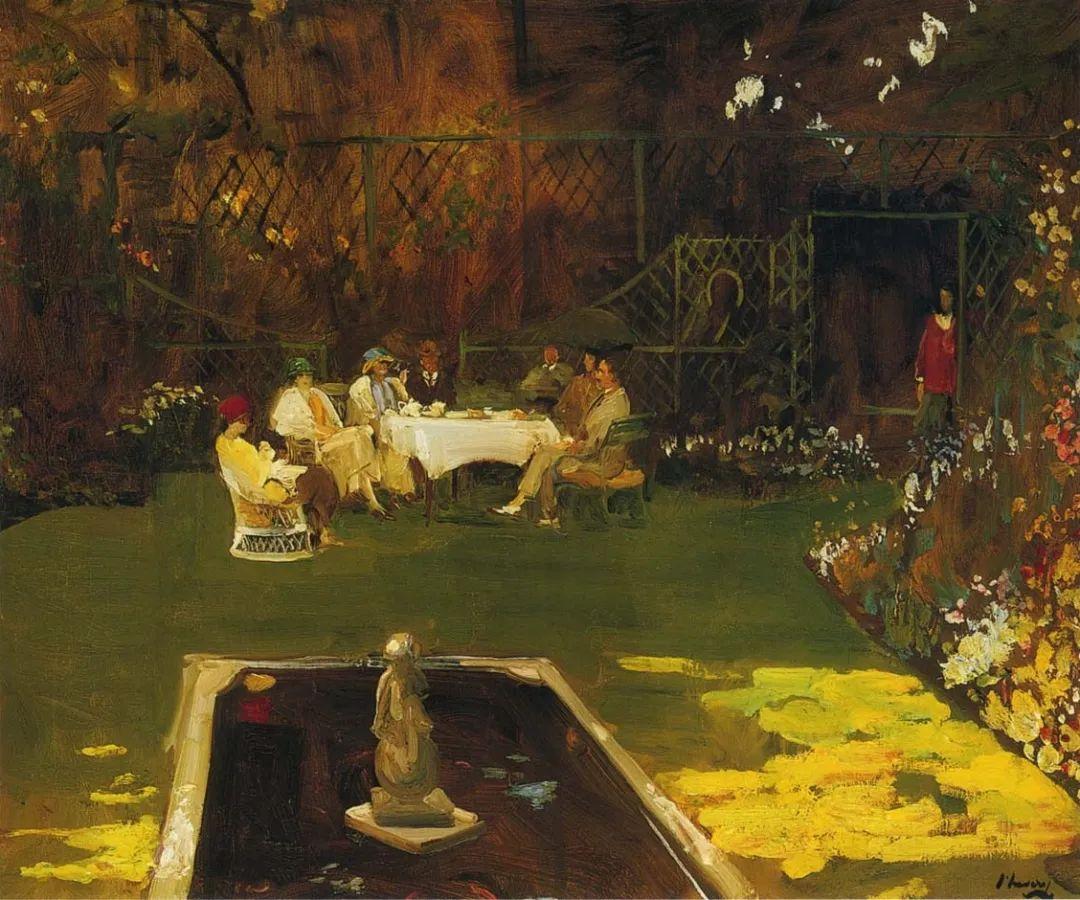 英国皇家美术学院院士、爱尔兰著名画家约翰·拉维里插图71