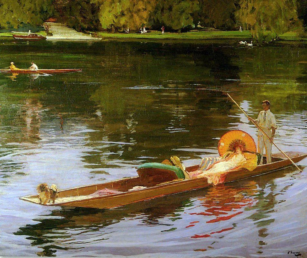 英国皇家美术学院院士、爱尔兰著名画家约翰·拉维里插图73