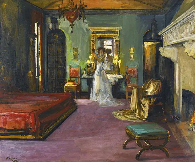 英国皇家美术学院院士、爱尔兰著名画家约翰·拉维里插图75