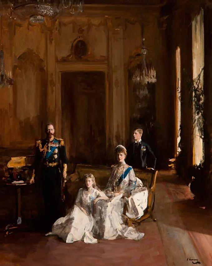 英国皇家美术学院院士、爱尔兰著名画家约翰·拉维里插图77