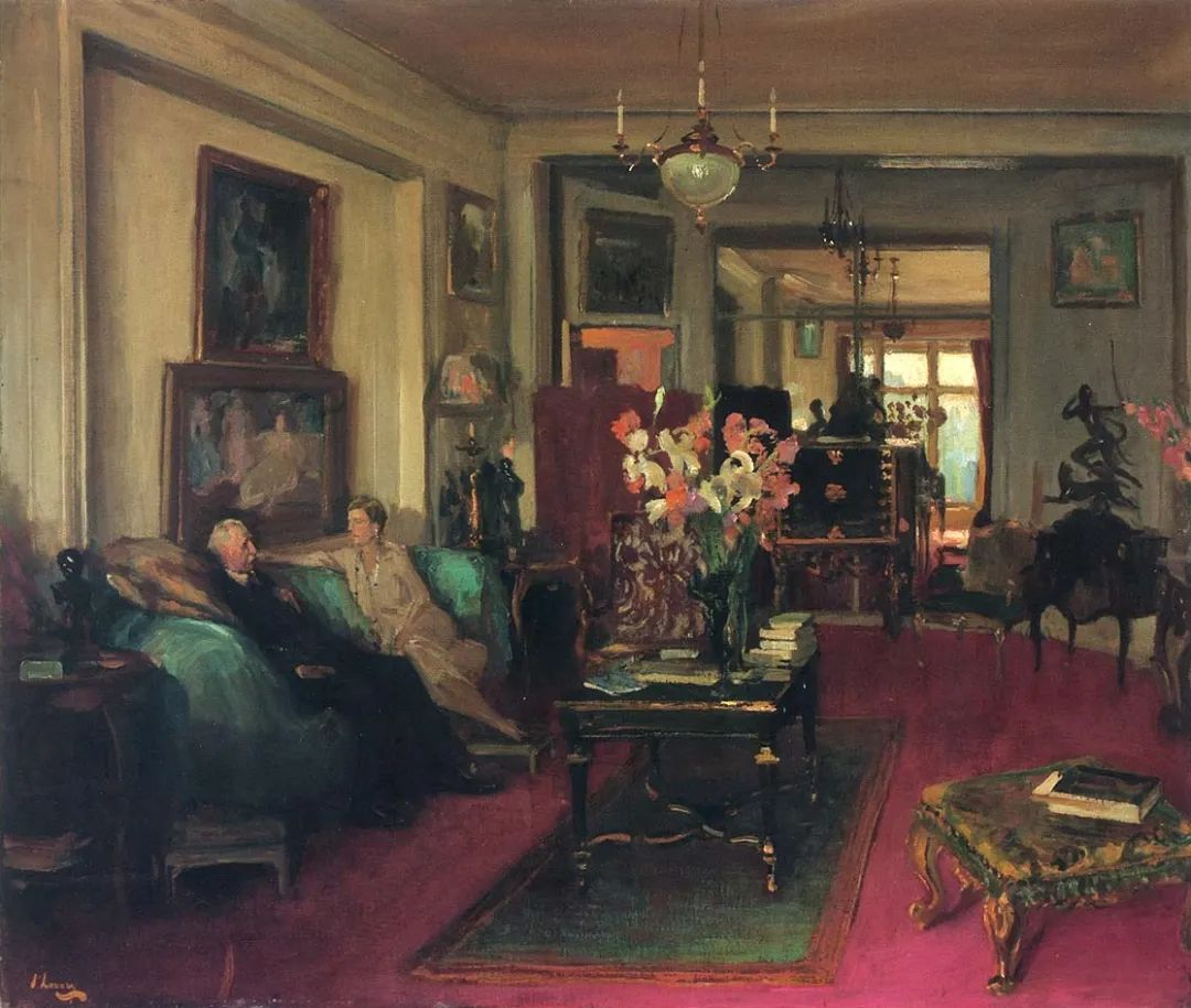 英国皇家美术学院院士、爱尔兰著名画家约翰·拉维里插图79