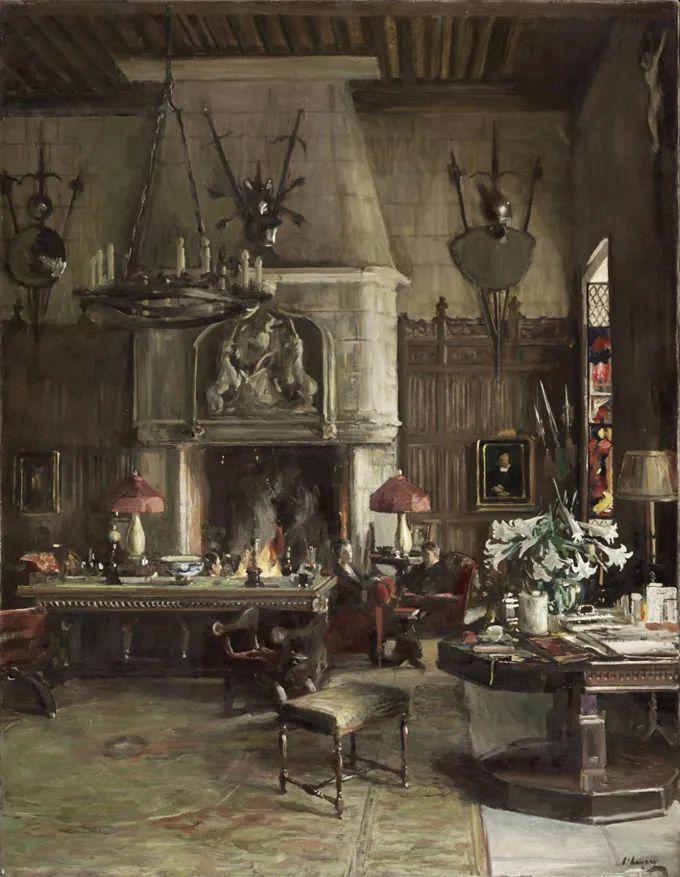 英国皇家美术学院院士、爱尔兰著名画家约翰·拉维里插图81