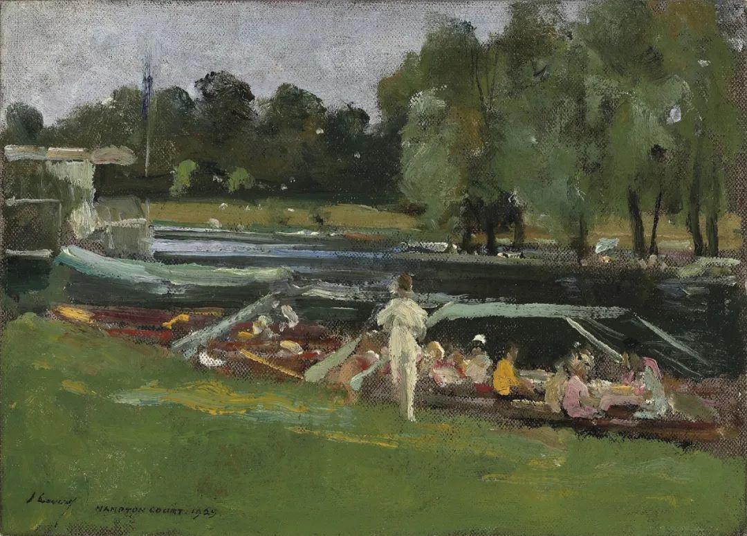 英国皇家美术学院院士、爱尔兰著名画家约翰·拉维里插图83