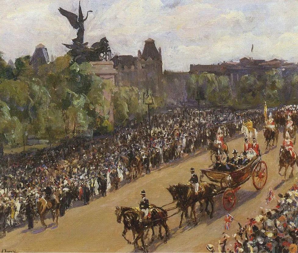 英国皇家美术学院院士、爱尔兰著名画家约翰·拉维里插图91