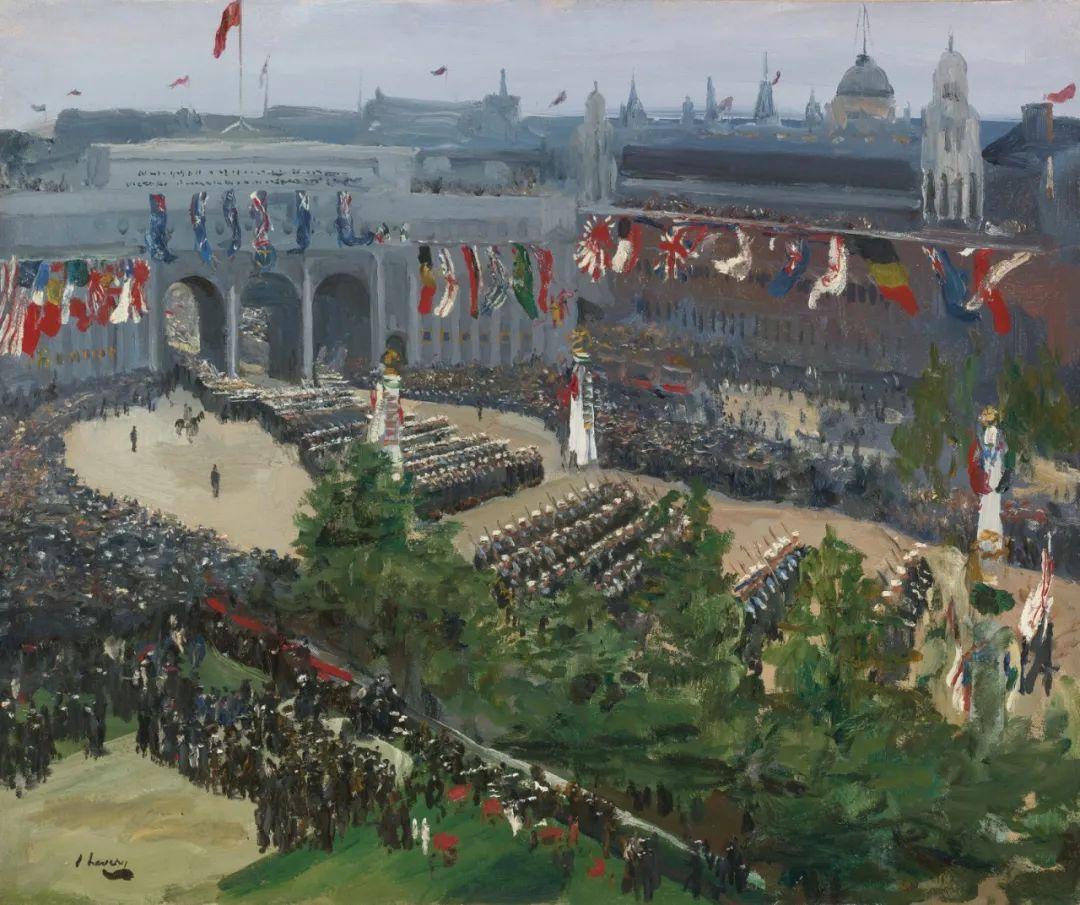 英国皇家美术学院院士、爱尔兰著名画家约翰·拉维里插图95