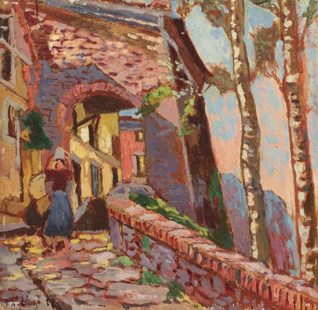 后斑痕画派的著名代表,意大利画家乌尔维·利吉插图1