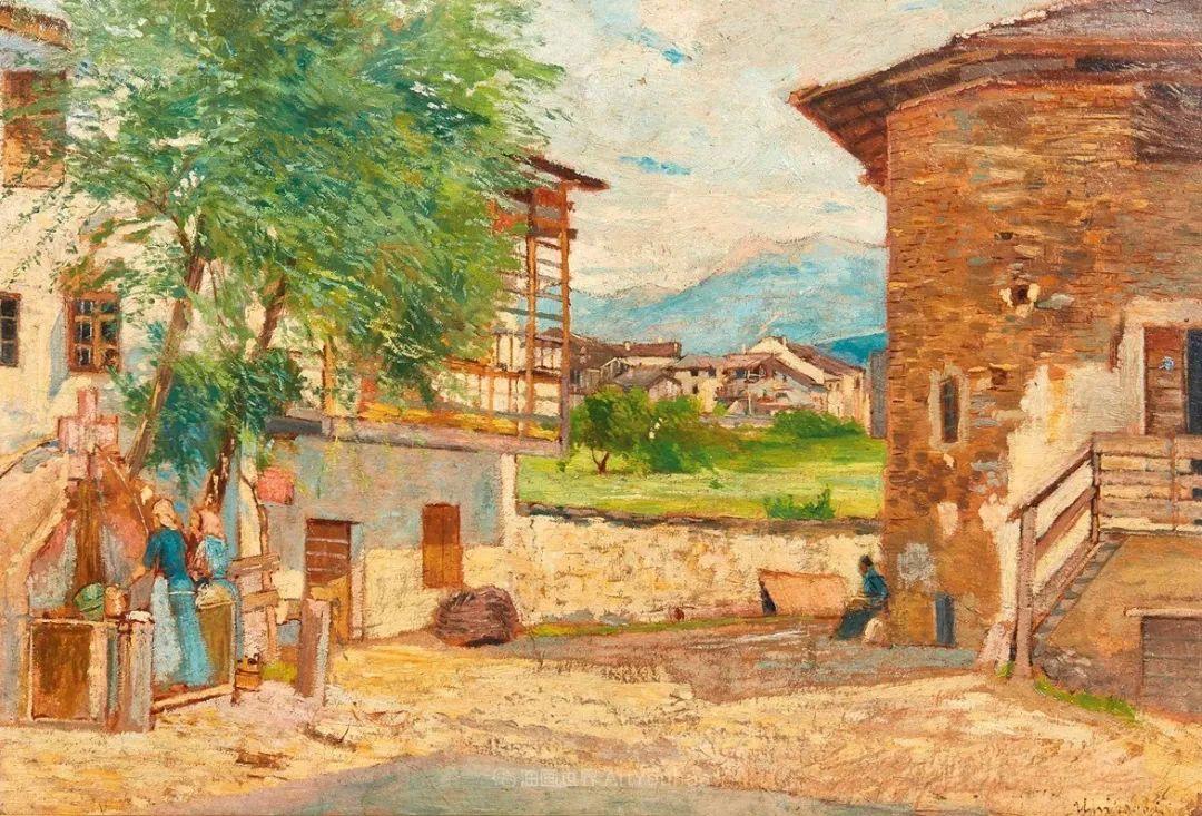 后斑痕画派的著名代表,意大利画家乌尔维·利吉插图5