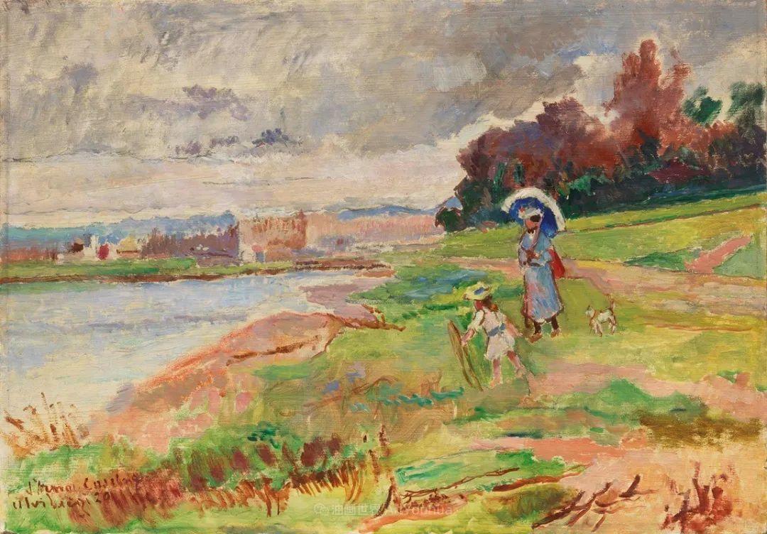 后斑痕画派的著名代表,意大利画家乌尔维·利吉插图7