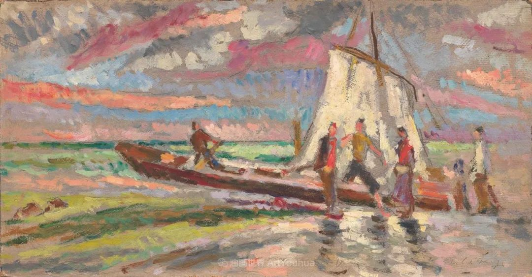 后斑痕画派的著名代表,意大利画家乌尔维·利吉插图9