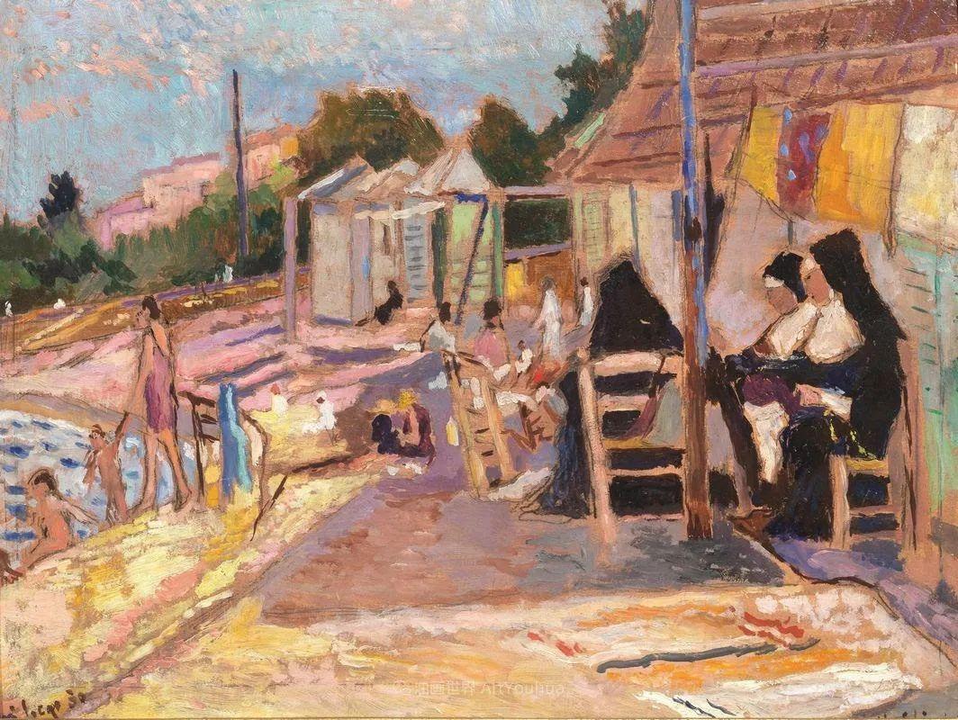 后斑痕画派的著名代表,意大利画家乌尔维·利吉插图11