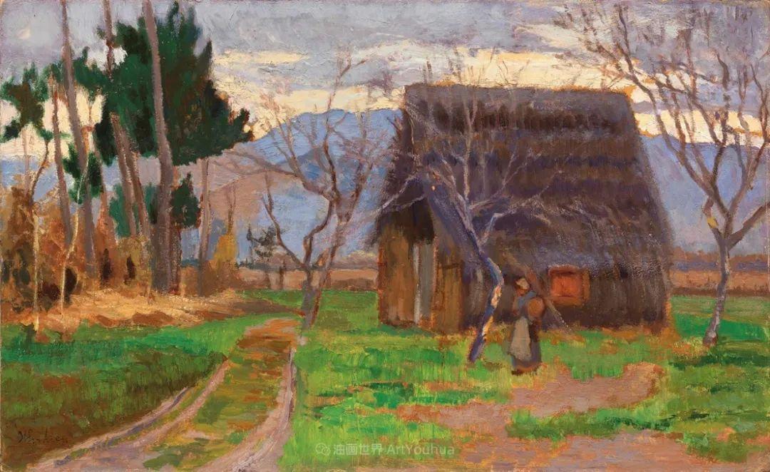 后斑痕画派的著名代表,意大利画家乌尔维·利吉插图13