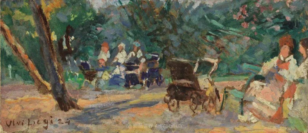 后斑痕画派的著名代表,意大利画家乌尔维·利吉插图17
