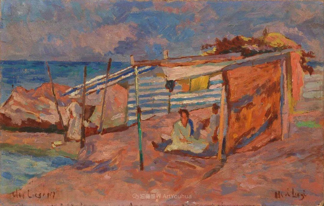 后斑痕画派的著名代表,意大利画家乌尔维·利吉插图19