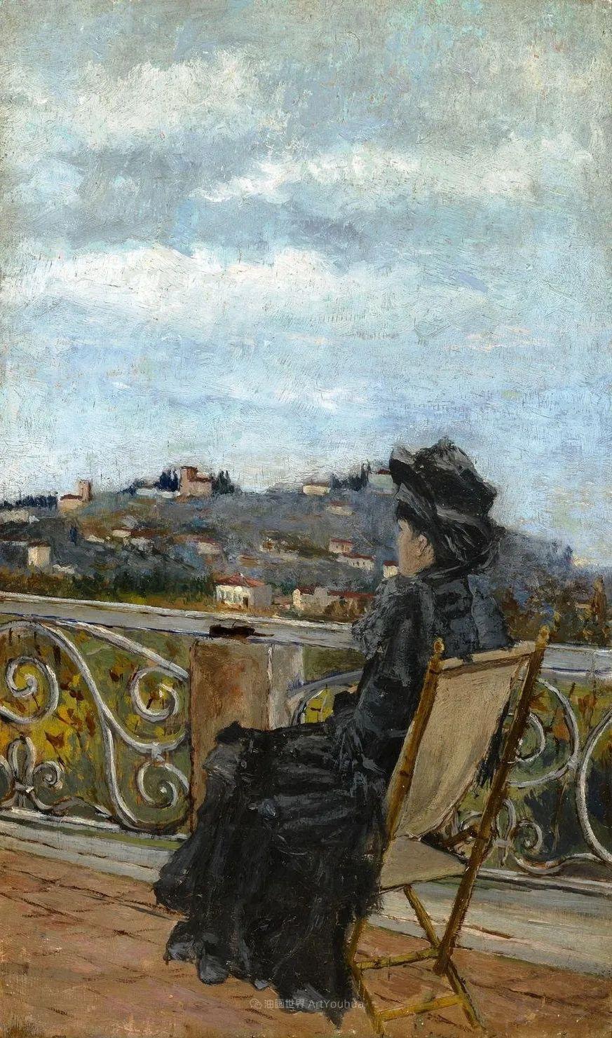 后斑痕画派的著名代表,意大利画家乌尔维·利吉插图21